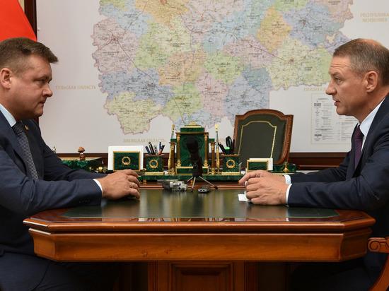 Любимов обсудил с Фоминым депутатский контроль за реализацией нацпроектов