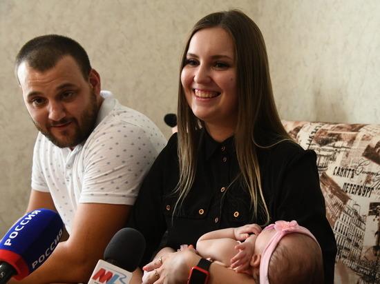 Семьи Волгоградской области получают 50 тыс. рублей за первенца
