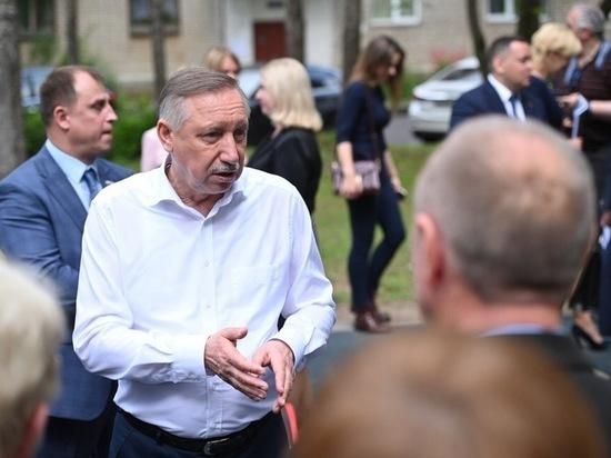 Беглов поблагодарил петербуржцев за поддержку на выборах