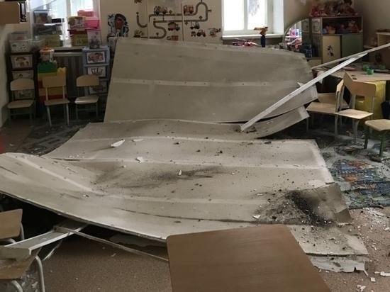 Прокурорская проверка началась после обрушения потолка детсада в Чите