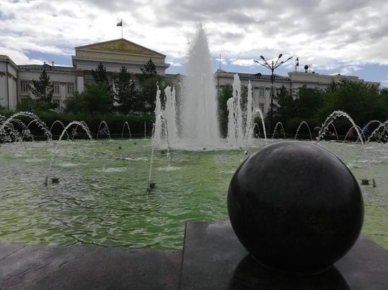 Музыкальный фонтан в Чите законсервируют на зиму 16 сентября