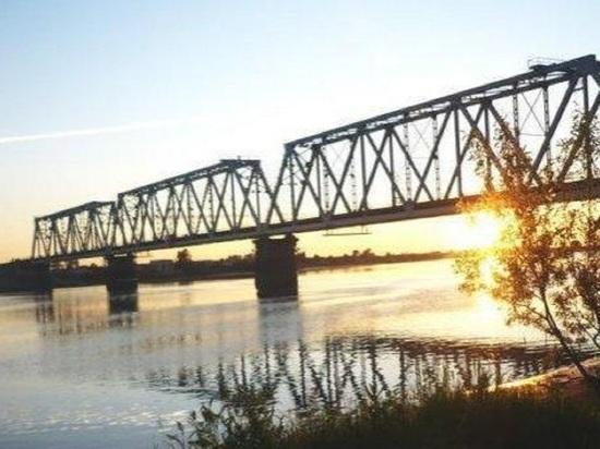 В Архангельске с сульфатского железнодорожного моста через Кузнечиху сняли «прыгуна»