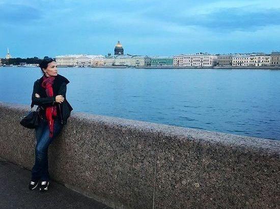 Тарья Турунен прогулялась по Петербургу