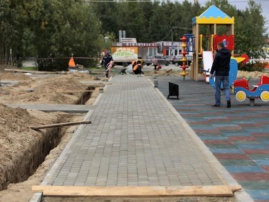 Новый сквер появится в Сургуте в октябре