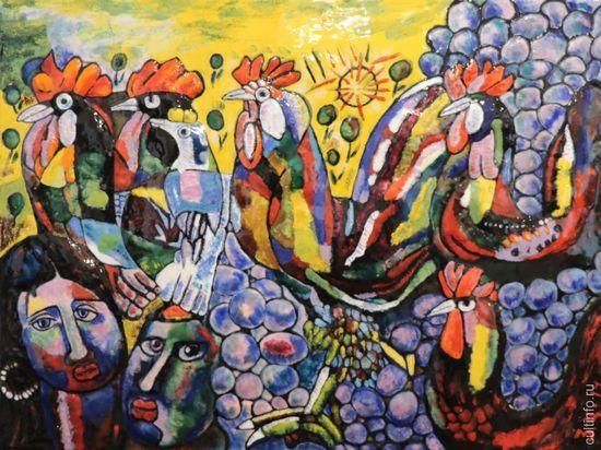 Выставка объемных эмалей Зураба Церетели открылась в Вологде