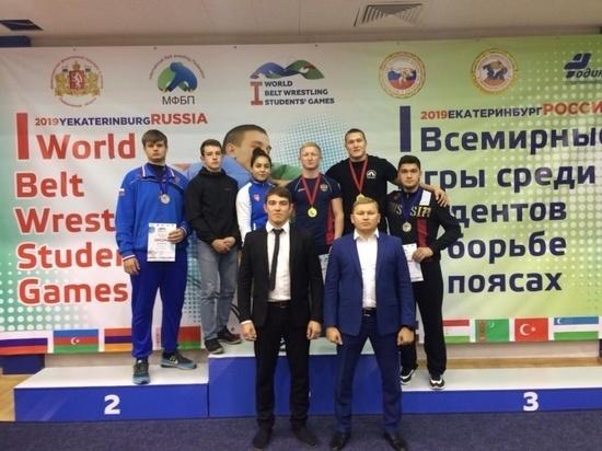Башкирские спортсмены завоевали шесть медалей на Всемирных играх студентов