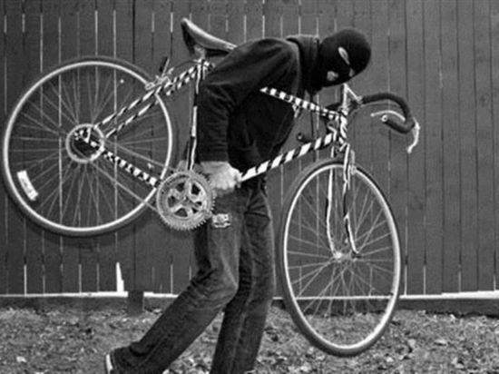 В Архангельске поймали очередного велосипедного вора