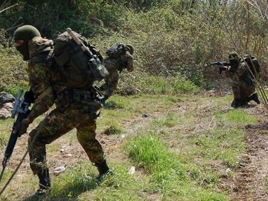 Колонну «неприятеля» захватили разведчики в Забайкалье