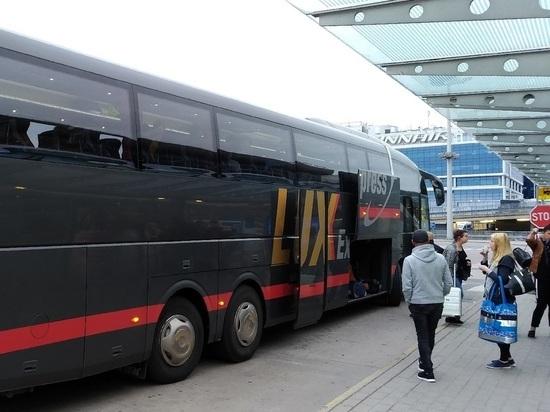 Чаще всего на автобусы из Европы в Петербург опаздывают педантичные немцы