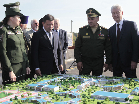 В Подмосковье появится центр военно-патриотического воспитания молодежи