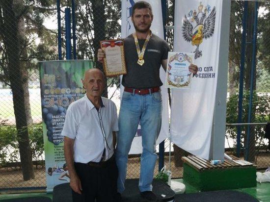 Забайкалец взял «золото» России по гиревому спорту среди ветеранов