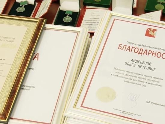 Лесников области поздравили с профессиональным праздником в Правительстве региона