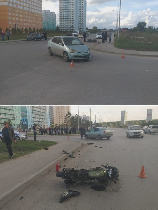 В Новосибирске погибла 15-летняя пассажирка мотоцикла