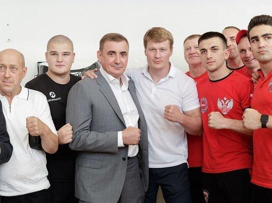 Дюмин и Поветкин открыли в Тульской области чемпионат по боксу