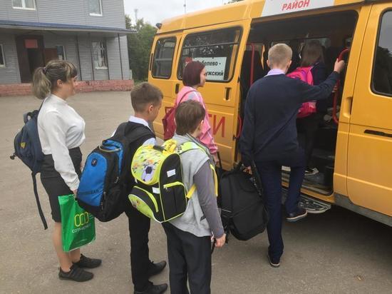 Калужские дети вынуждены по 3 часа ждать школьный автобус