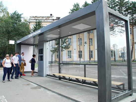Первая умная остановка появилась в Хабаровске