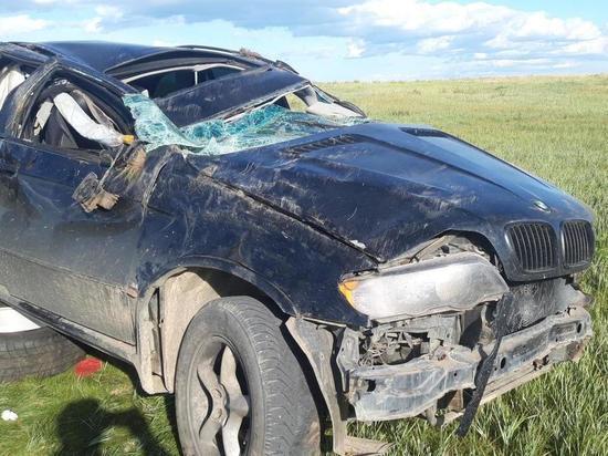 Водитель погиб за рулем немецкого внедорожника в Забайкальском районе