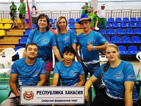 Спортсмены с ограниченными возможностями из Хакасии взяли две серебряных медали