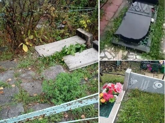 Семиклассники разгромили кладбище в Новосибирской области