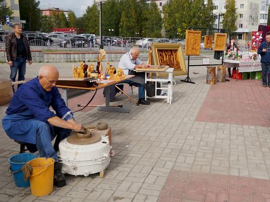 В Нефтеюганске прошел Региональный фестиваль забытых ремесел «Возвращение к истокам»