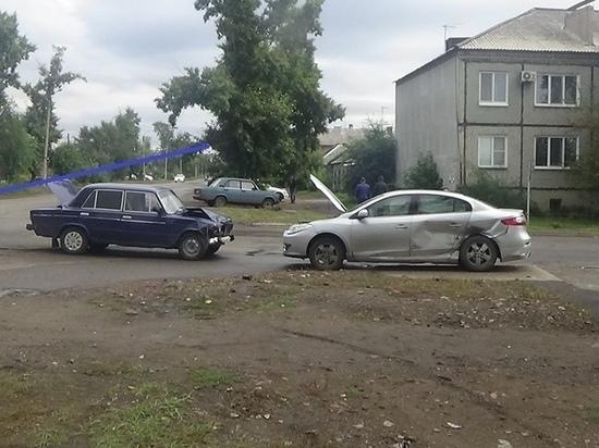 В Черногорске виновником ДТП стал очень пожилой водитель