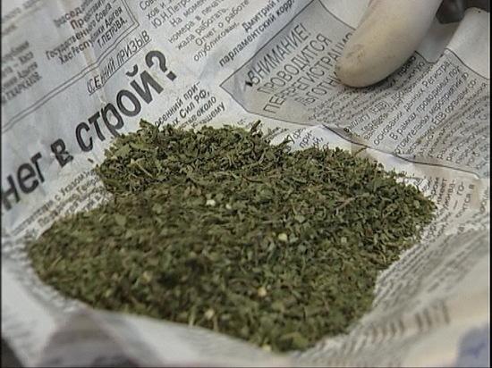 У жителей Курманаевского района нашли марихуану