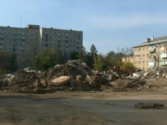 В Ярославле снесли детский сад в центре города