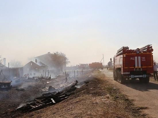 После пожаров в Тамани объявлен режим ЧС