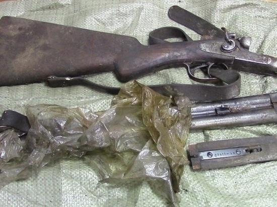 Почти 50 лет березовчанин хранил в гараже ружьё и не знал о нём