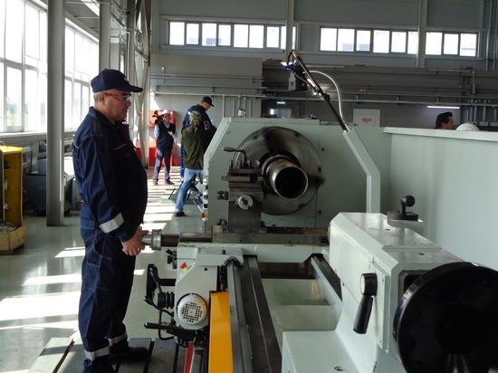 На минувшей неделе на площадке индустриального парка «Боровский» был запущен в эксплуатацию новый производственный комплекс ООО НПО «СибБурМаш»
