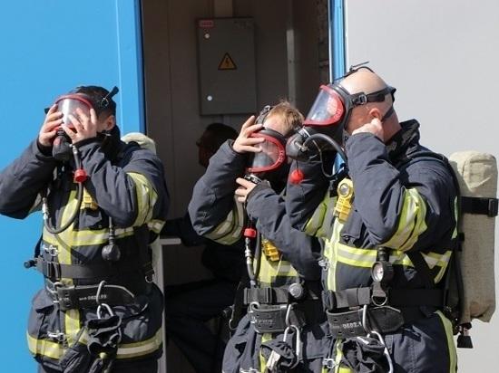 Уникальное оборудование для тренировки пожарных появилось на Сахалине