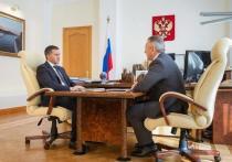 Александр Моор встретился с Дмитрием Кобылкиным