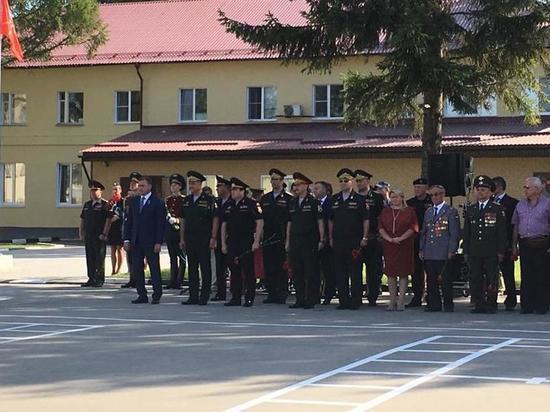 В Туле открыт мемориал сотрудникам, отличившимся при исполнении служебного долга