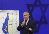 Израильский премьер Биньямин Нетаньяху заявил, что в случае своего переизбрания на израильских парламентских выборах 17 сентября, распространит суверенитет Израиля на Иорданскую долину и северную часть побережья Мертвого моря