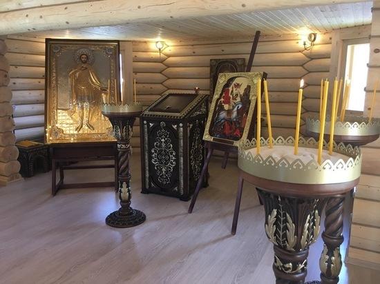 На территории тульского Управления Росгвардии открыли Храм Александра Невского
