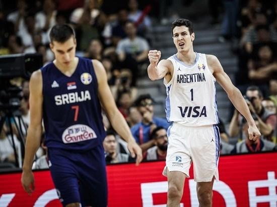 Сборная Сербии уступила аргентинцам в четвертьфинале чемпионата мира по баскетболу, команда США проиграла французам