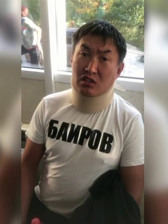 В Улан-Удэ таксиста Баирова арестовали на пять суток
