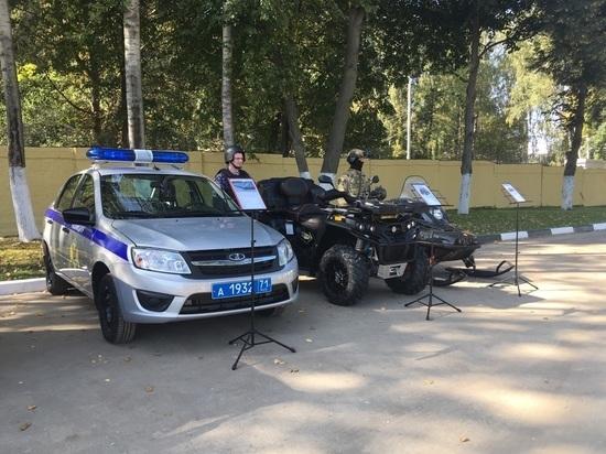 Тульские росгвардейцы получили автомобили для выполнения боевых задач