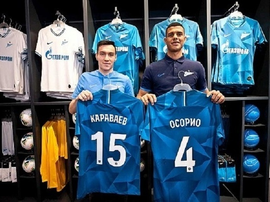 """""""Зенит"""" провел презентацию двух новых защитников клуба"""
