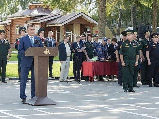 Дюмин и Золотов открыли мемориал на территории Тулы