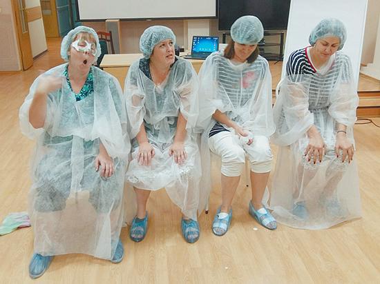 Медработники на себе испытали, что чувствуют тяжелобольные люди