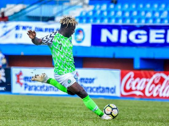 Хавбек «Тамбова»  дважды выступил за сборную Нигерии