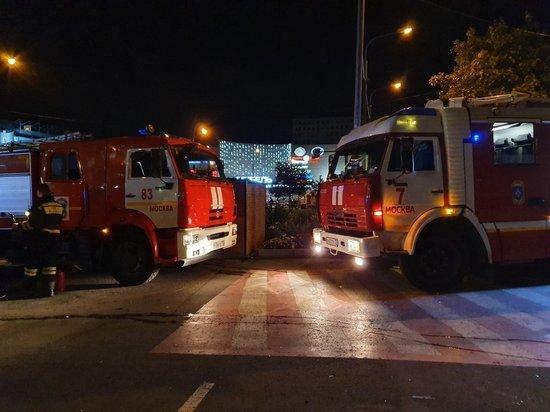 В здании подразделения Минюста в центре Москвы произошел пожар