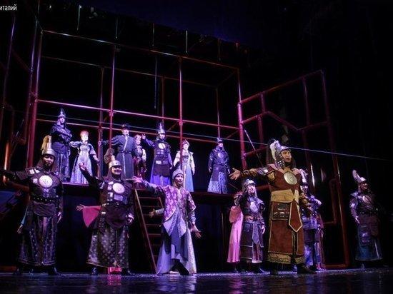 Калмыцкий театр участвует в фестивале и принимает гостей