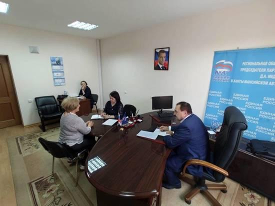 За помощью к депутату Думы Югры Сергею Великому обратились три жительницы Ханты-Мансийска