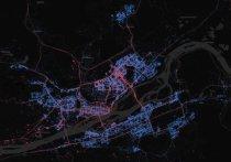 Дизайнер сравнивает число владельцев Android и iPhone в городах мира: показал карту Красноярска