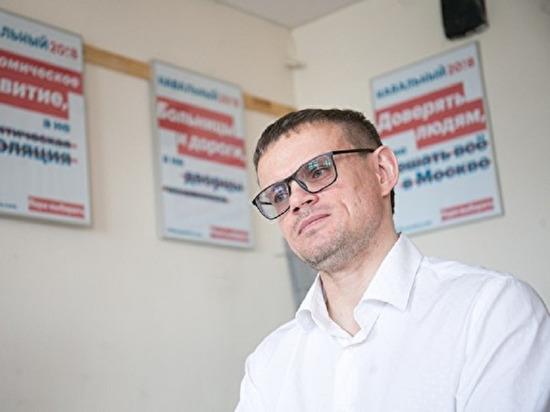 В екатеринбургский штаб Навального пришли силовики