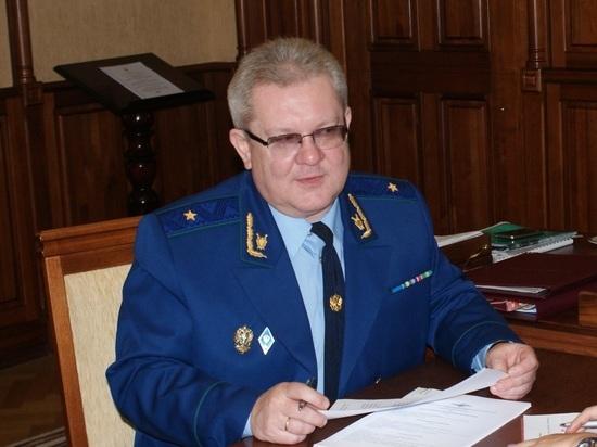 Прокурор Томской области ушел в отпуск с последующим увольнением