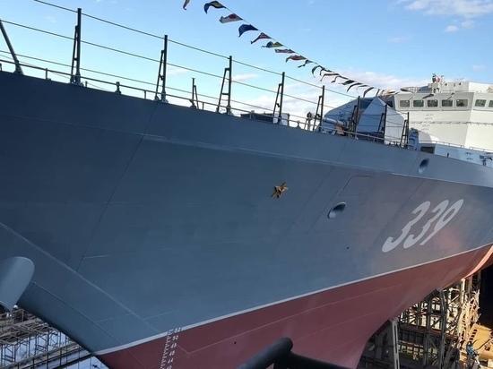 Корабль имени забайкальца Алдара Цыденжапова спущен на воду