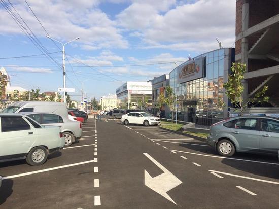 В Ставрополе благоустраивают территорию у Верхнего рынка